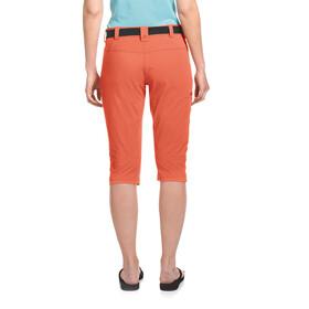 Maier Sports Inara Slim Pantalones 3/4 Mujer, naranja
